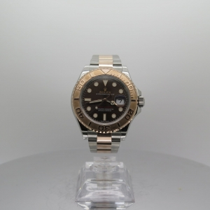 Rolex Yachtmaster 40mm 116621 Rose Gold & Steel Chocolate Dial Pre-owned