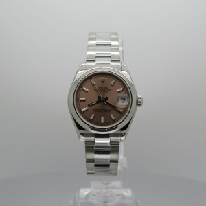 Rolex Datejust 31mm 178240 Stainless Steel Salmon Dial Pre-owned